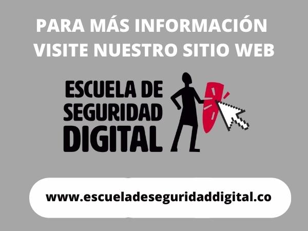 Sitio Web Escuela de Seguridad Digital